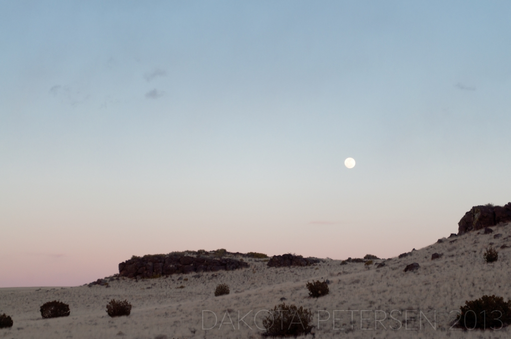 Moon over the Plains