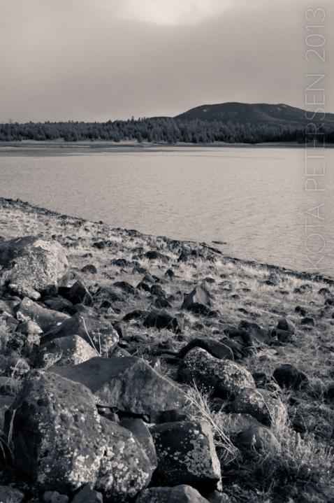 Lakeside Boulder Mono