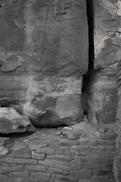 Stone Abstract Mono